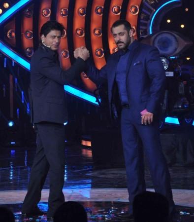 Salman and Shah Rukh on 'Bigg Boss 9'