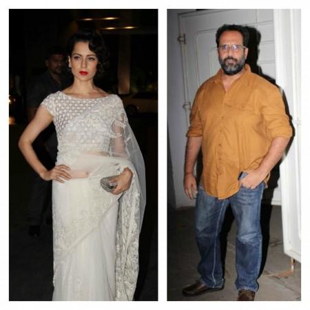 All is well between Kangana Ranaut and director Aanand L. Rai
