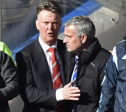 Louis Van Gaal Manchester United Jose Mourinho Chelsea