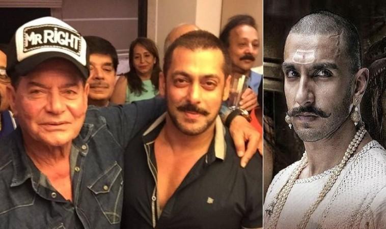 Salman Khan's father Salim was the first choice of 'Bajirao Mastani'