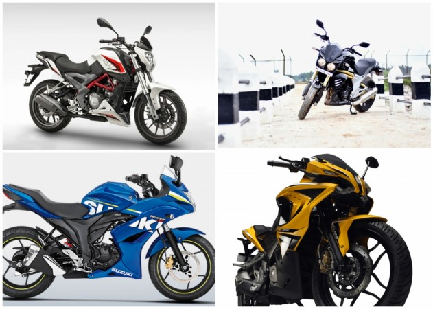 Top four sporty motorcycles under Rs 2 lakh launched in 2015