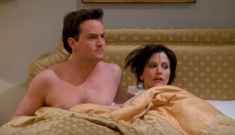 Chandler and Monica from 'Friends'