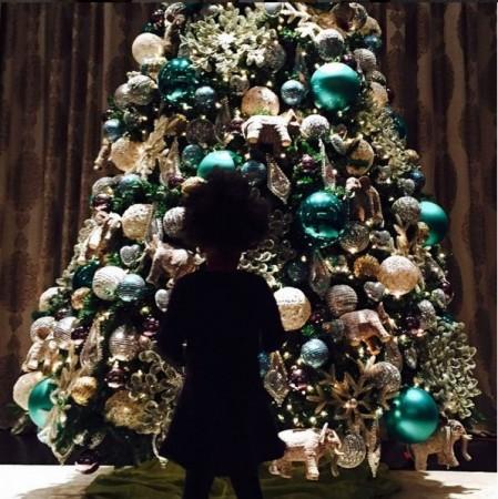 Beyonce Christmas Tree