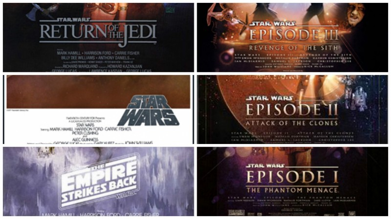 Star Wars all episodes