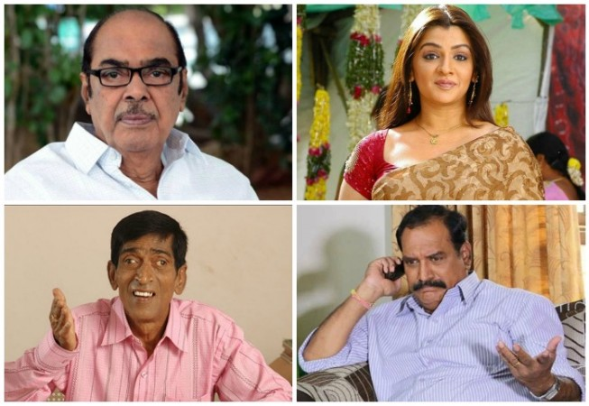 Telugu celebs death in 2015