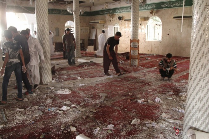 Saudi Arabia mosque bombing