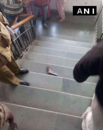 Delhi court shooting