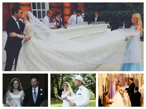 Celeb wedding 2015