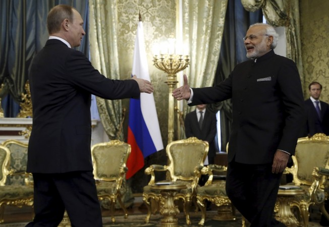 India-Russia sign 16 MoU's