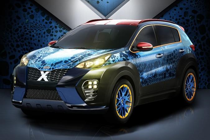 Kia's X-Men: Apocalypse themed Sportage