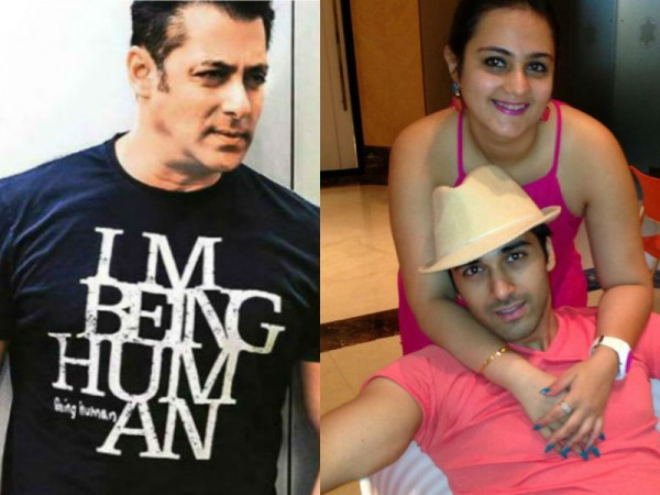 Salman Khan Pulkit Samrat and Shweta Rohira