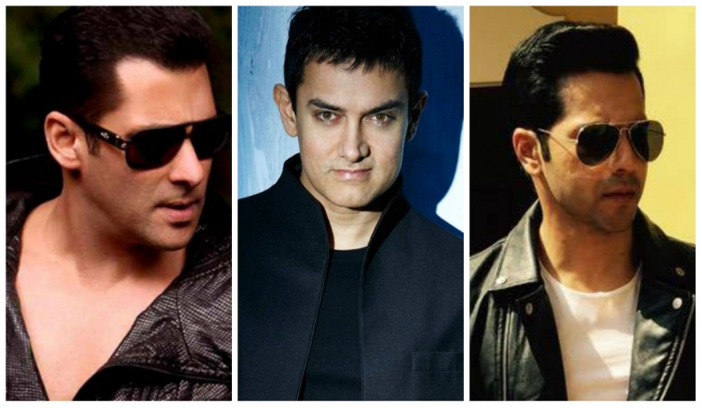 Salman Khan, Aamir Khan, Varun Dhawan