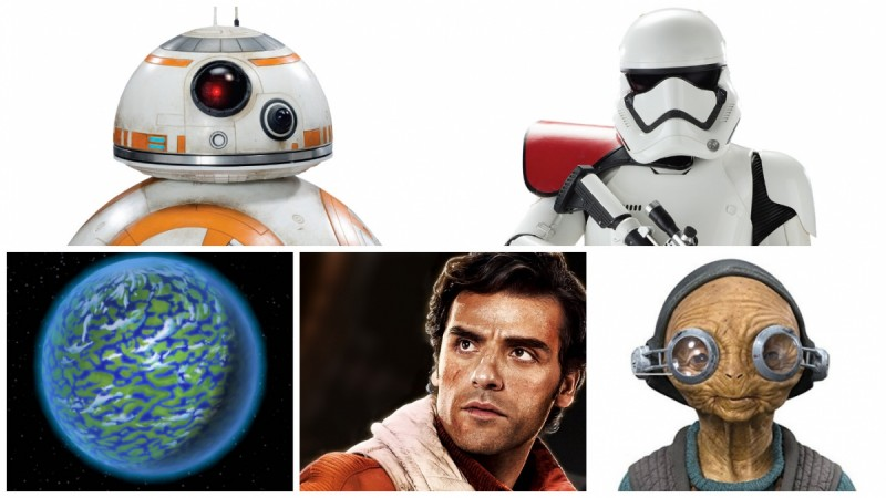 Comic book ideas for 'The Force Awakens'