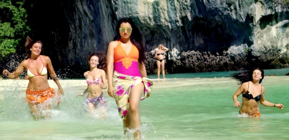 Trisha in Bikini