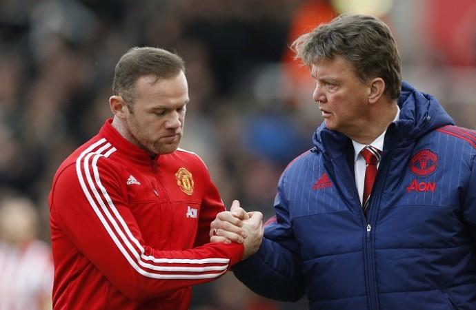 Wayne Rooney Louis Van Gaal Manchester United