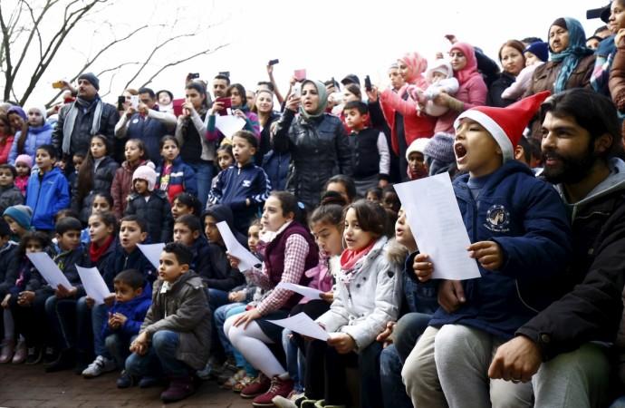 Germany refugee children