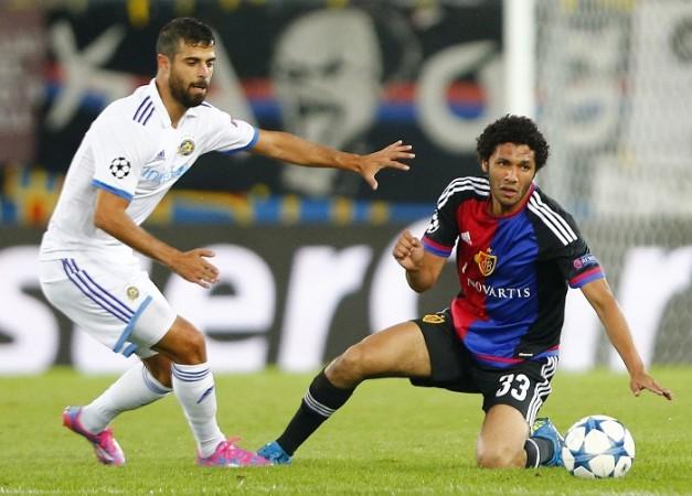 Ben Basat Maccabi Tel Aviv Mohamed Elneny FC Basel