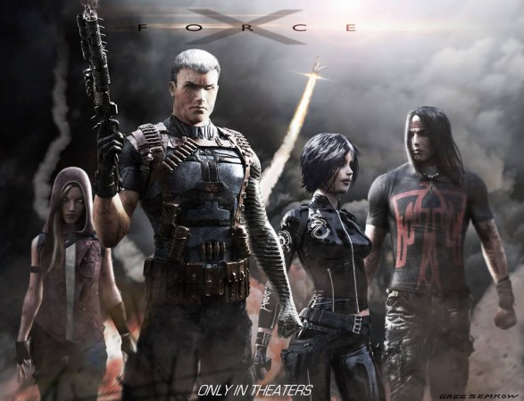 X-Force concept art by Gregory Semkow