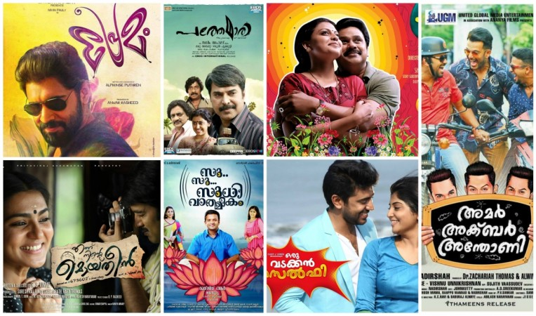 Top Malayalam movies that made good business in 2015