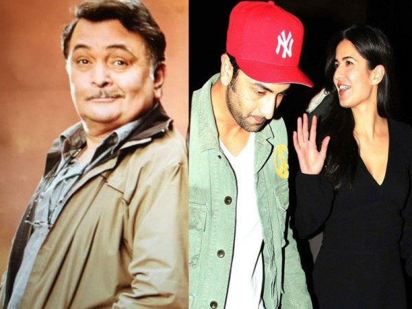 Ranbir Kapoor, Katrina Kaif and Rishi Kapoor