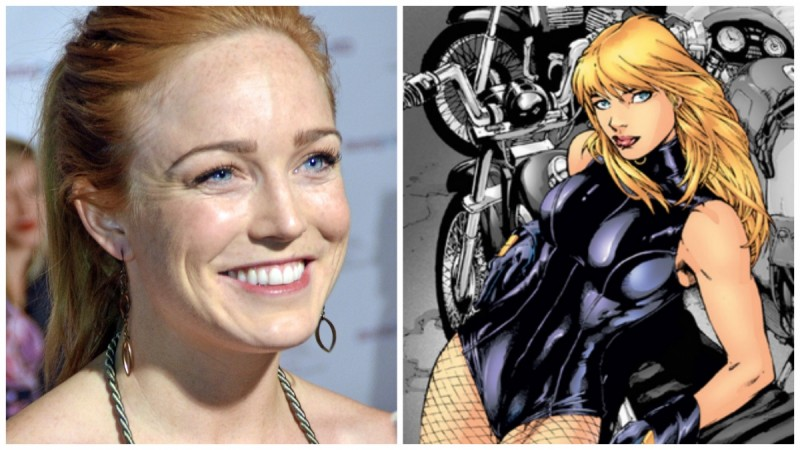 Caity Lotz might appear as Black Canary?