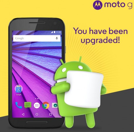 Android Marshmallow update released to Moto G (3rd Gen) in India