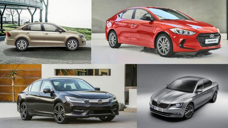 Upcoming Sedans 2016