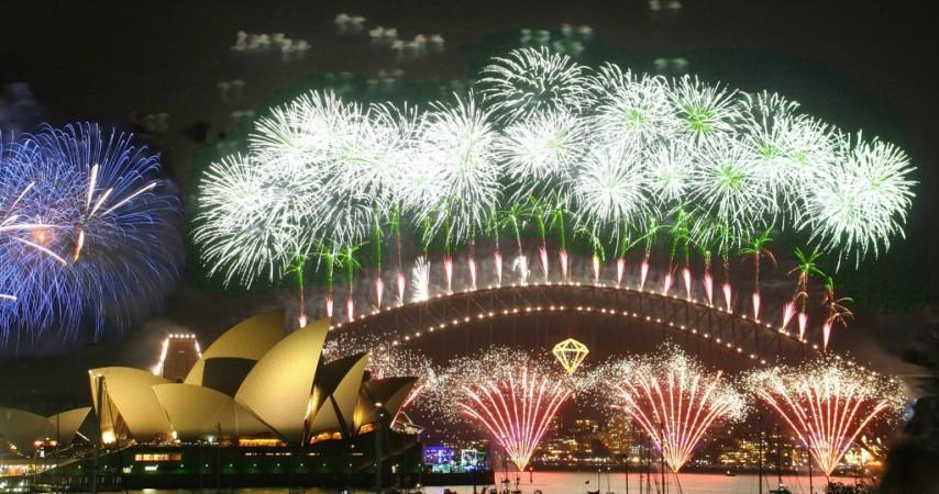 Sydney Fireworks ceremony