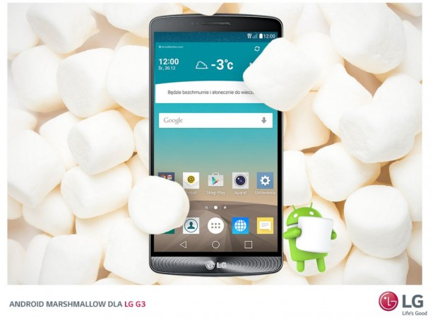 After LG G4, Android Marshmallow rolled out to LG G3 in Europe