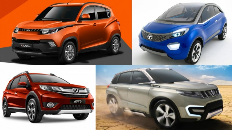 upcoming compact SUVs