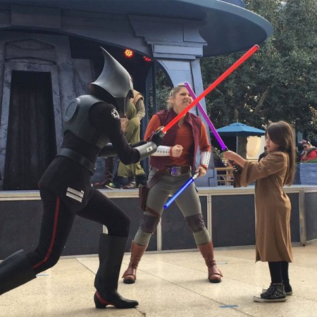 Gellar's Daughter, Charlotte, fighting with the Seventh Sister