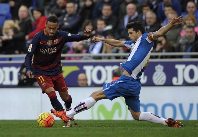 Neymar Barcelona Javi Lopez Espanyol