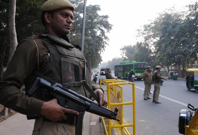 Delhi terror threat security