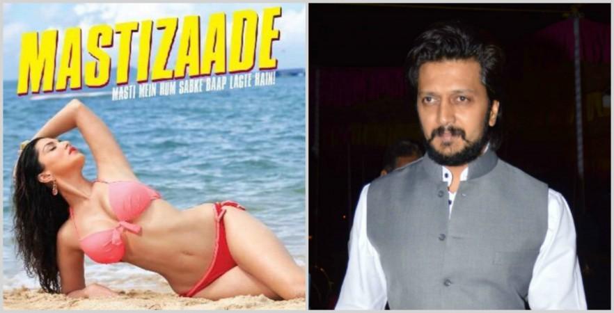 'Mastizaade' poster, Riteish Deshmukh