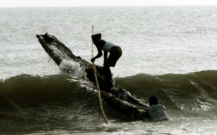 Fishermen detained