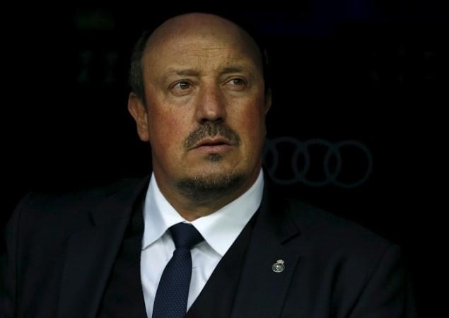 Rafa Benitez Real Madrid
