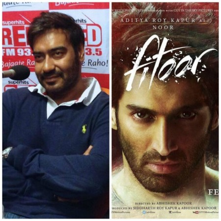 Ajay Devgn plays Aditya Roy Kapur's godfather in 'Fitoor'
