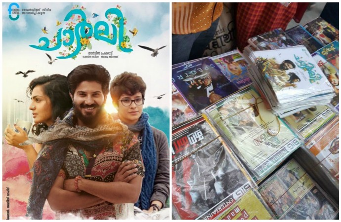 Pirated copies of Dulquer Salmaan's Charlie released