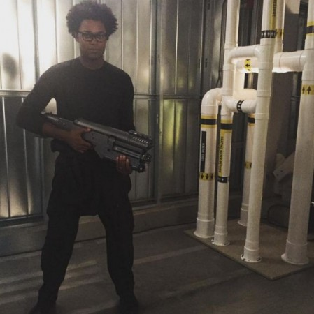 Echo Kellum as Mr Terrific in Arrow Season 4