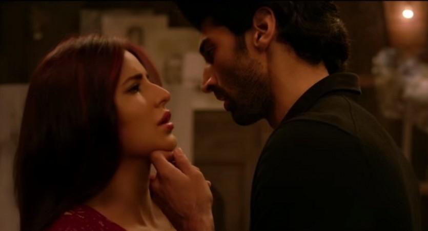 Aditya Roy Kapur and Katrina Kaif in 'Yeh Fitoor Mera' song