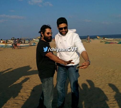 Abhishek Bachchan with Vikram