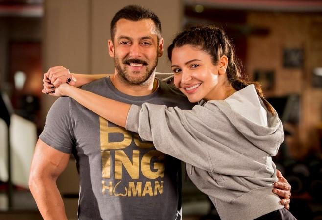 Salman Khan and Anushka Sharma