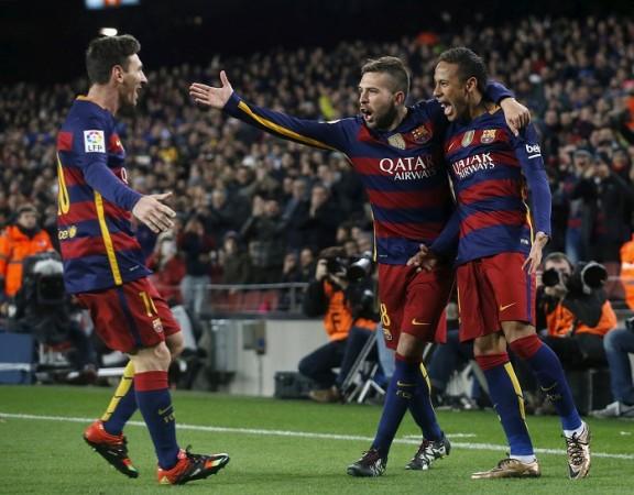 Barcelona Messi Neymar Alba