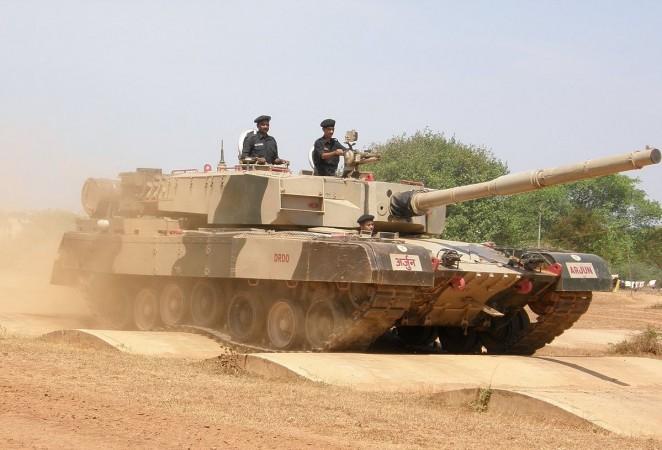 Arjun MBT tanks