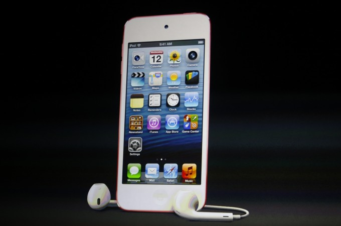 The picture showing iPod Touch with earpods is used as a representational image for Apple's rumoured plans to ditch 3.5mm headphone jack in iPhone 7