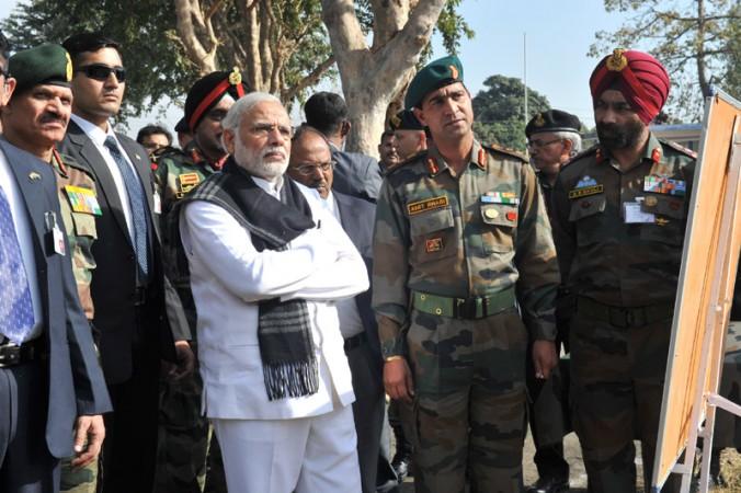 PM Modi in Pathankot