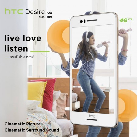 HTC Desire 728, Desire 626 prices slashed in India by Rs 1,000