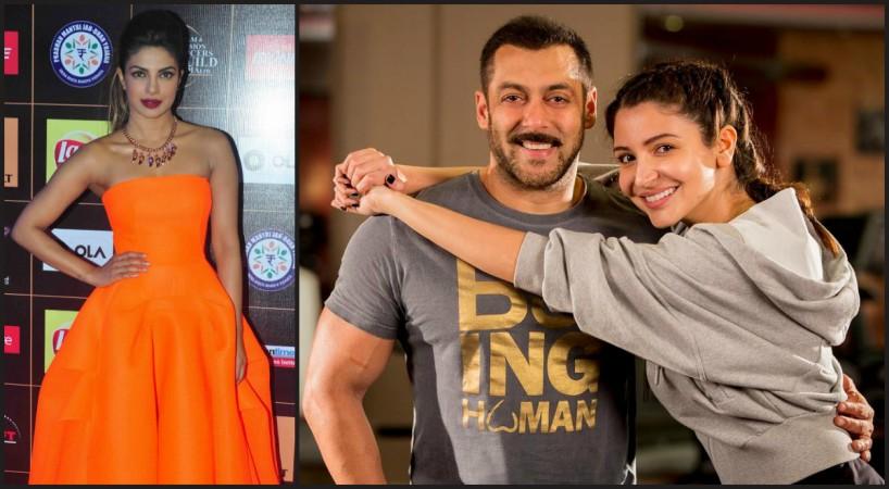 Priyanka Chopra, Salman Khan, Anushka Sharma