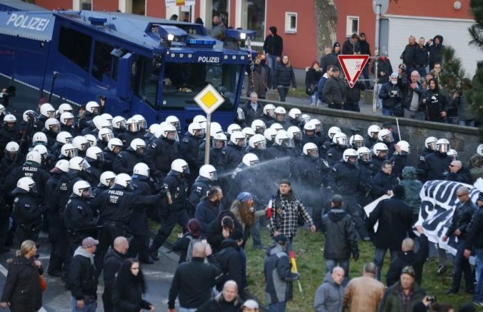 Cologne protest