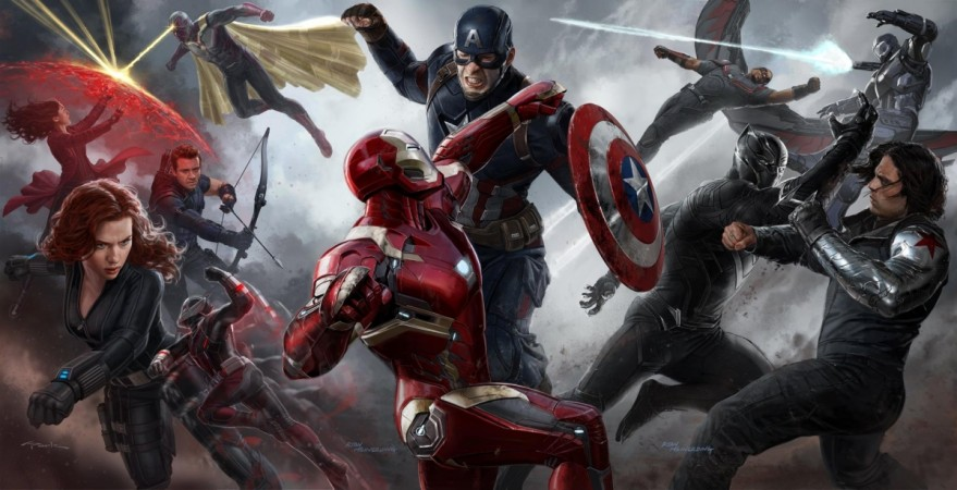 New poster for 'Captain America: Civil War' shows which Avenger is on whose side